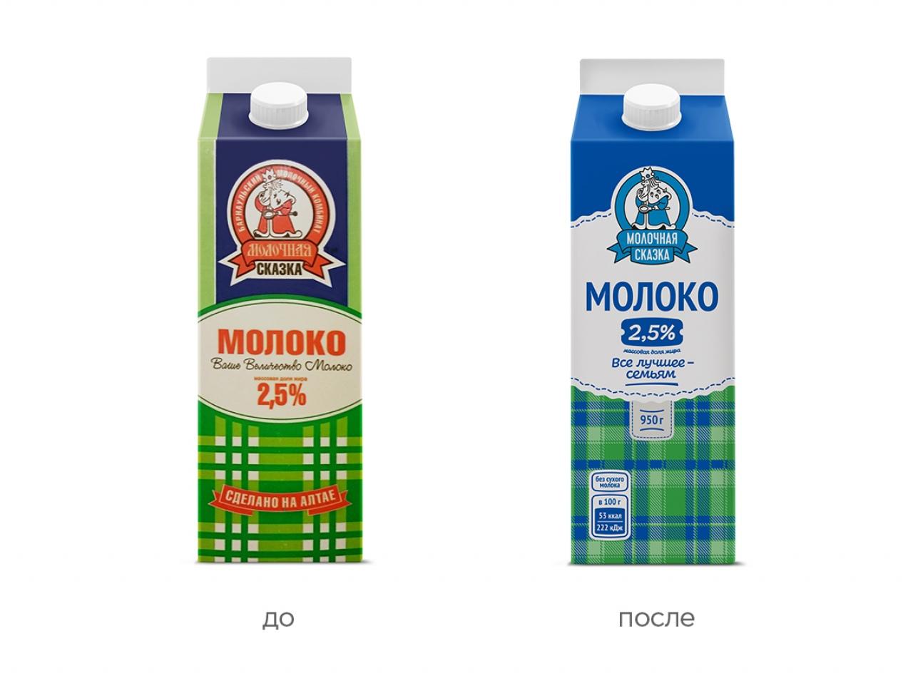 упаковка, дизайн, ребрендинг, молочный комбинат