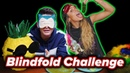 Sommer Ray and I try the Blindfolded Touch Challenge Noah Schnapp