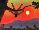 Маугли бой свободной стаи с рыжими собаками