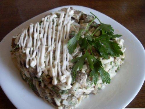 Вкуснейший салат из баклажанов!