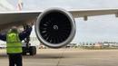 Тестовый запуск двигателя Boeing 777