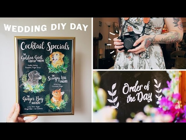 WEDDING DIY VLOG 🎨💐 ad