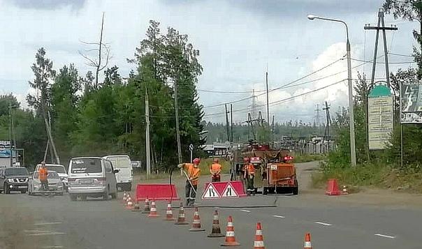 Ремонт Усть-Илимского шоссе
