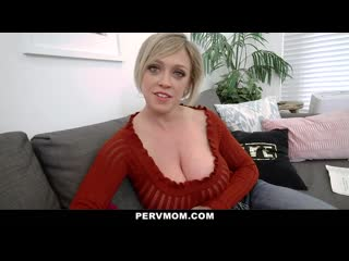 Pervmom thick ass stepmom gets titty fucked by stepson