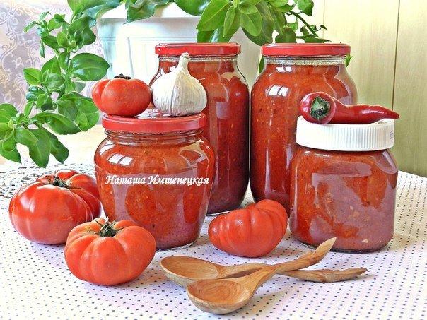 Соус из помидоров и перца. Начинаем подготовку к зиме!)
