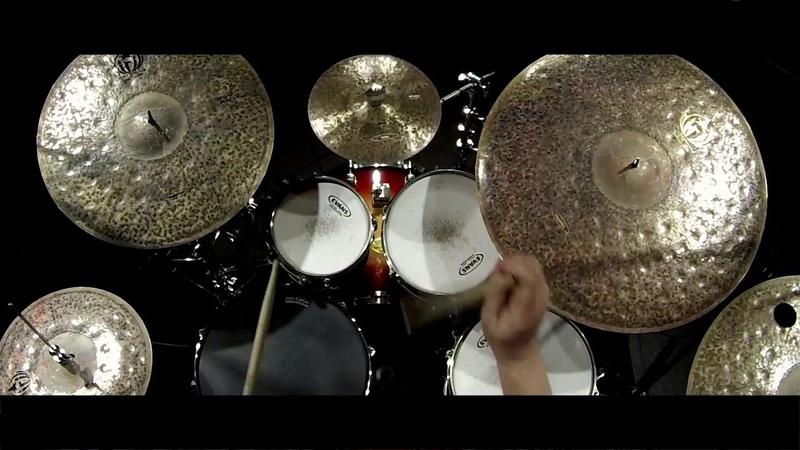 Henryk Stanoszek prezentacja talerzy Diril Primitive Ocean drum cymbals ŚCP