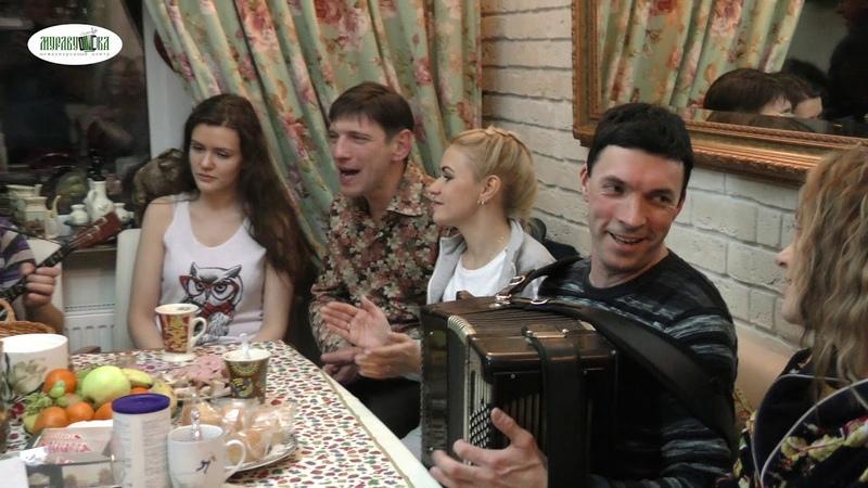 Кухня талантов на улице Болотова!! Гармонь - это душа народа. Это наше родное, близкое!