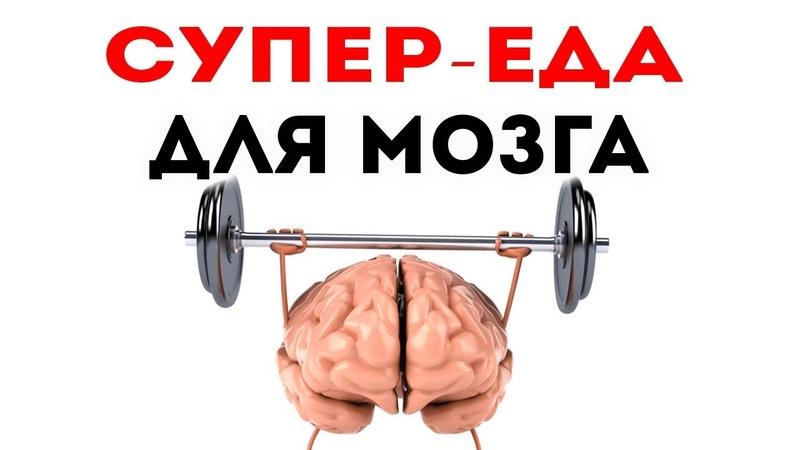 Эта СУПЕР СПЕЦИЯ УСИЛИТ ПАМЯТЬ в разы Продукты для мозга улучшающие память