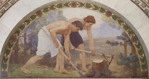 Чарльз Спарк Пирс (1851-1914 считается американским художником, хотя значительную часть своей жизни прожил в Европе. Родился Пирс в Бостоне (штат Массачусетс) в семье состоятельного торговца
