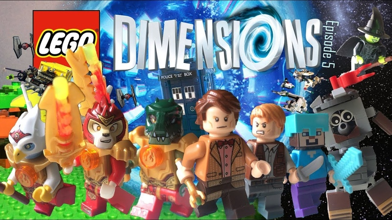 Lego Dimensions Episode 5 Stop Motion Legends of Chima Space Police