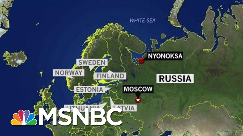 Radiation Containment A New Concern In Russian Nuclear Incident | Rachel Maddow | MSNBC