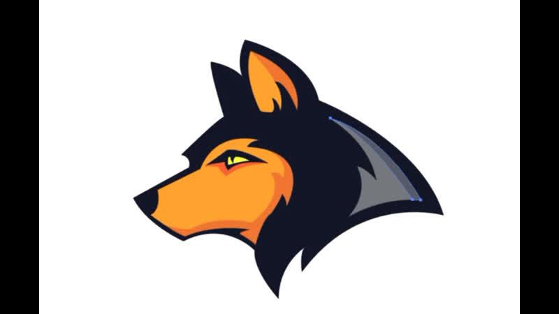 Illustrator CC Tutorial. Graphic Design. Mascot Dog logo