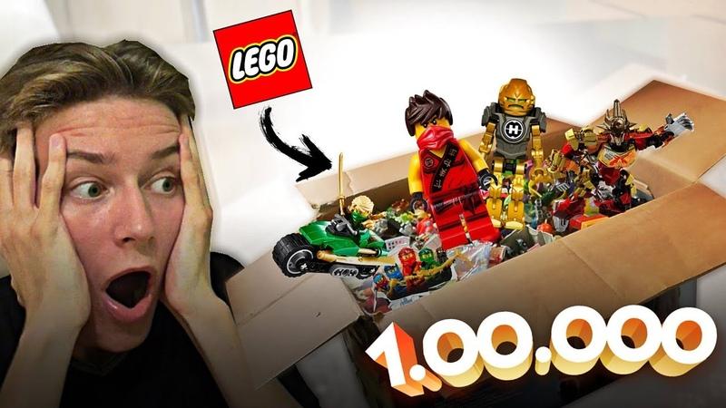 НАШЁЛ 100 000 ДЕТАЛЕЙ LEGO