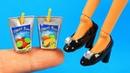 Лайфхаки для куклы Барби ~ Мини Рюкзак, Туфли, Мини Фен и ещё!!