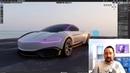 Blender 2 8 Visualizing CAD pt 1 Importing Automotive CAD using Alias or Rhino