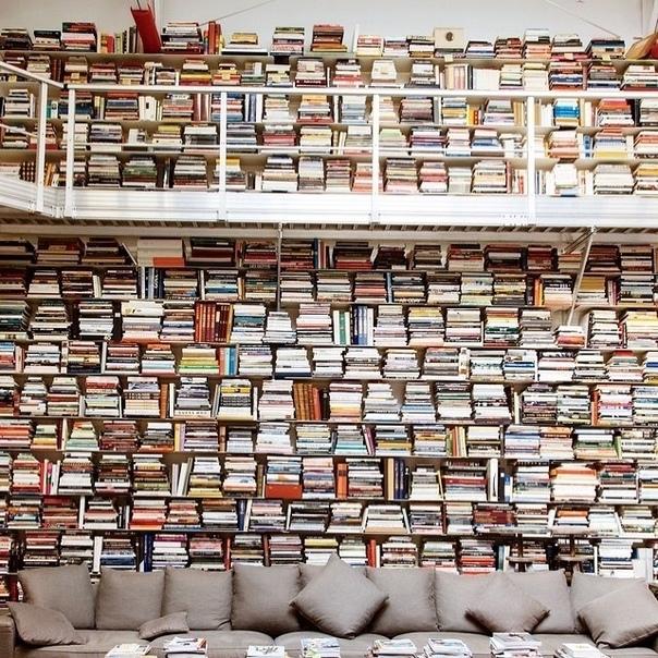 Библиотека Карла Лагерфельда У меня порядка 300 000 книг. И каждый день я читаю по 2-3 часа. И знаете, к чему это привело Я возненавидел современную литературу. Взгляните на Гюнтера Грасса. Его