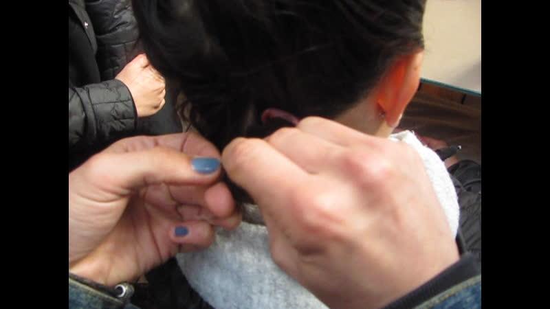 МК по вплетанию дрэд и кос