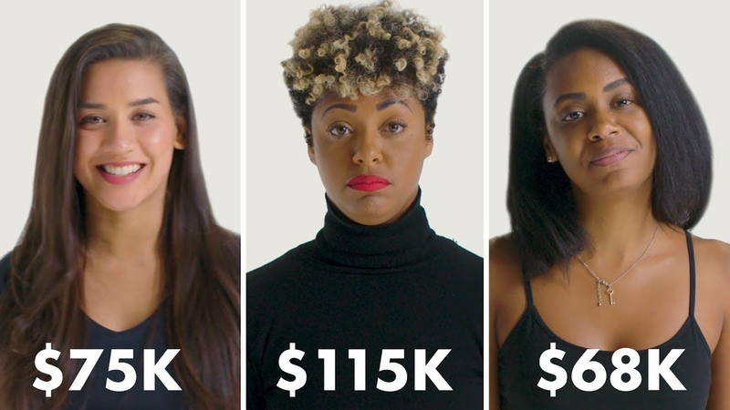 Women with Different Salaries on Donating to Charity | Glamour vk.comtopnotchenglish