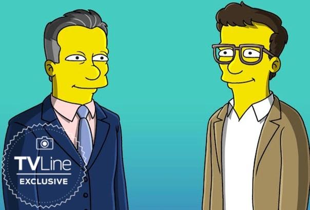 А вот так братья Руссо будут выглядеть в одной из будущих серий «Симпсонов»