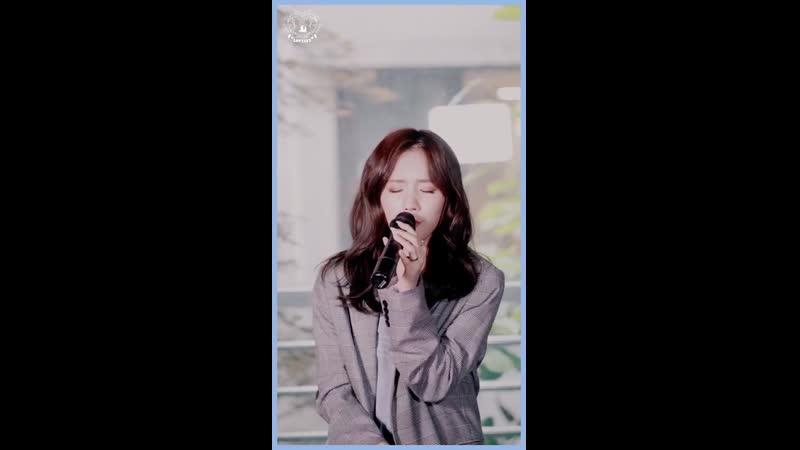 """강민경 -""""사랑해서 그래""""(커버 by. 진(JIN) of 러블리즈) [THE LIVE]"""