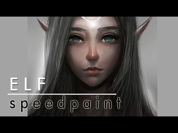 Speedpaint ELF Photoshop Digital Painting
