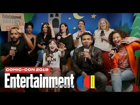 'Emergence' Stars Allison Tolman, Alexa Swinton Cast LIVE | SDCC 2019 | Entertainment Weekly