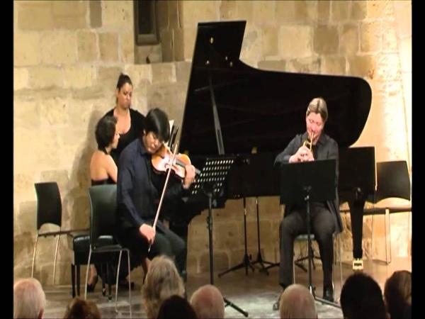 Sergei Nakariakov Daishin Kashimoto Maria Meerovitch Brahms Horn Trio in E flat arr for fluge