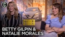 Stuber Betty Gilpin Natalie Morales Interview