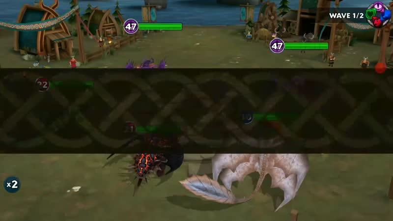 DRILL_FLIGHT PATROL Full Gameplay - New Gauntlet Event - Dragons_Rise of Berk