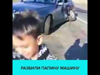 Семилетний мальчик поехал кататься на папиной машине — москва 24