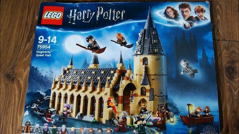 Обзор набора «Lego Harry Potter: Hogwarts Great Hall(75954)»