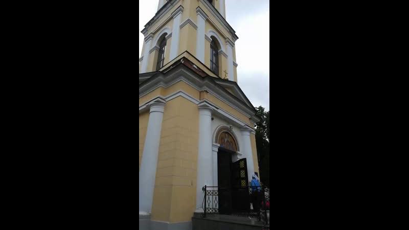 Храм Веры, Надежды, Любви и матери Софии. Москва. Приехали поклониться Поясу Пресвятой Богородицы!