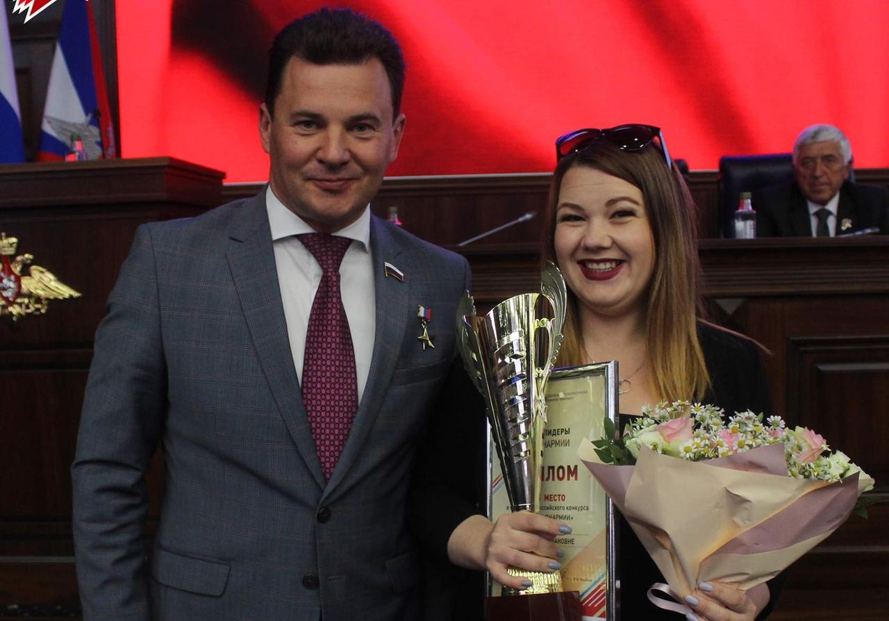 Вологжанка победила во всероссийском конкурсе «Лидеры Юнармии»