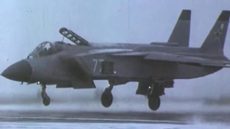 Yakovlev Yak-41M/Yak-141 Soviet supersonic VTOL fighter