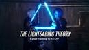 LEDパフォーマンス Cyber Tutting サイバー×タット When Jedi learned geometry