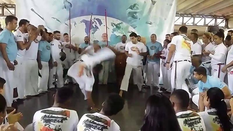 Abada Capoeira 2018 Roda livre (Jogos de Verao 2018)