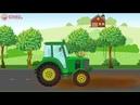 Мультики - Трактор. Мультики про машинки для детей