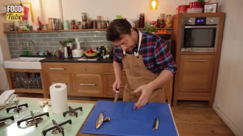 049 How to Fillet Sardines Jamie Oliver