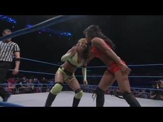Gail kim beats the shit out of some random slut
