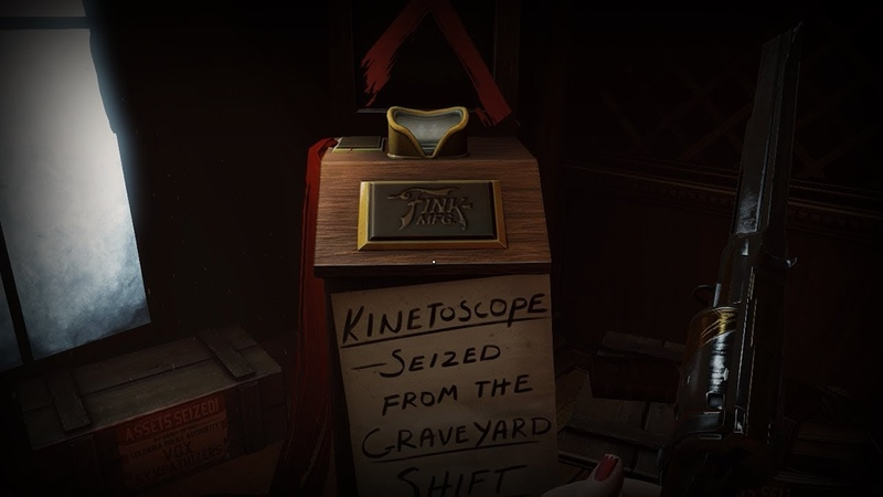 Bioshock Infinite Burial At Sea Episode Two Kinetoscope Seized from Graveyard Shift Bar