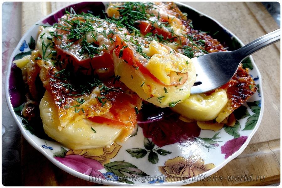 Быстрый и вкусный завтрак из кабачков