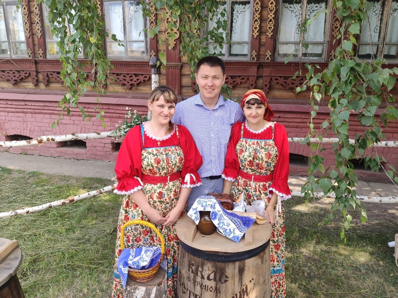 Радик миниханов Большеречье Старина Сибирская День села