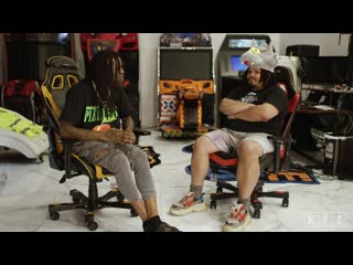 Kerwin frost talks to chief keef