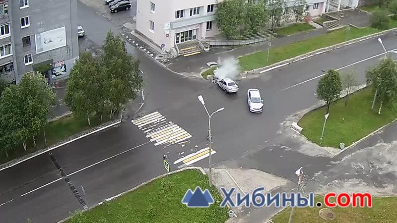 ДТП в Оленегорске.