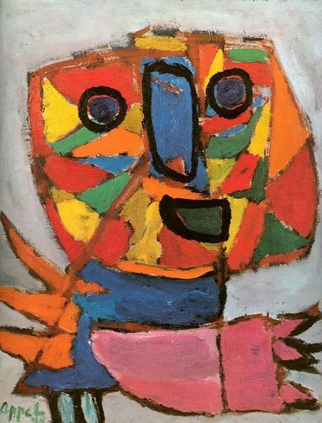 Карел Аппель (arel Appel, 1921-2006, Нидерланды)