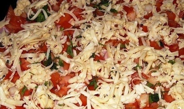 Рецепт быстрой и очень вкусной пиццы!