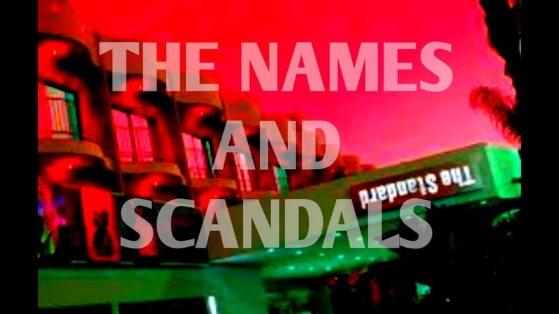 PT 6 SCANDALS CONNECTED TO THE STANDARD HOTELS