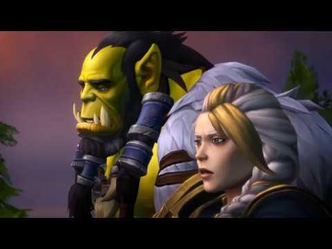 World of Warcraft Battle for Azeroth 8 2 Тралл и Джайна После спасения Бейна