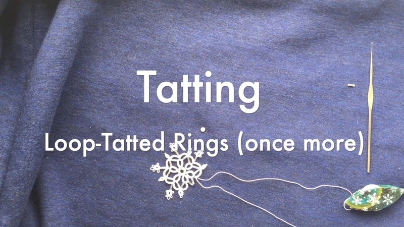 Loop Tatted Rings (one more time) :-)