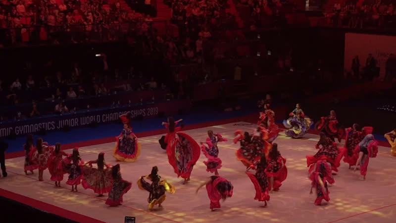 Гала-концерт, «Цыганский табор» Юниорский Чемпионат Мира 2019, Москва
